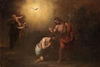 bautismo de cristo by francisco antolínez