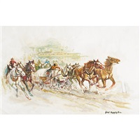 wagon race by george menendez rae