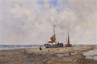 the beach, schevenigen by alexis arts