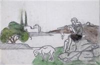 shepherd by meir gur-arie