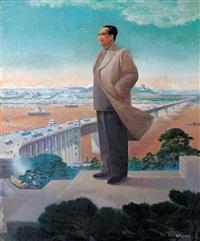 standing high, seeing far by liu yiwen