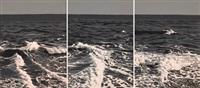 ola 1, 2, y 3 (triptych) by eduardo sanz