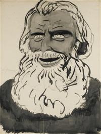 portrait de karl marx by léon spilliaert