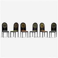 dining chairs (set of 6) by bjørn wiinblad