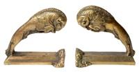 paire de serre-livres by pierre fournier des corats
