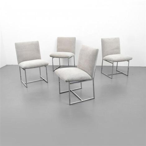 Milo Baughman Dining Chairs Set Of 4 By Milo Baughman On Artnet