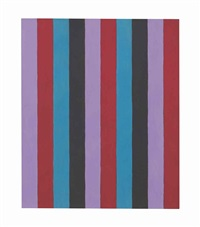untitled (two inch stripes) #6 by sherrie levine