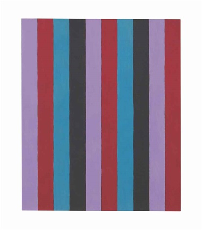 untitled two inch stripes 6 by sherrie levine