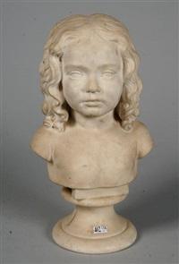 buste d'une fillette by benedikt könig