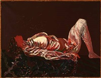reclining woman by síren kjaersgaard