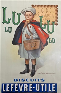 biscuits lefevre utile/lu lu by firmin bouisset