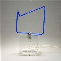 unikat-neon lichtobjekt by marijke de goey
