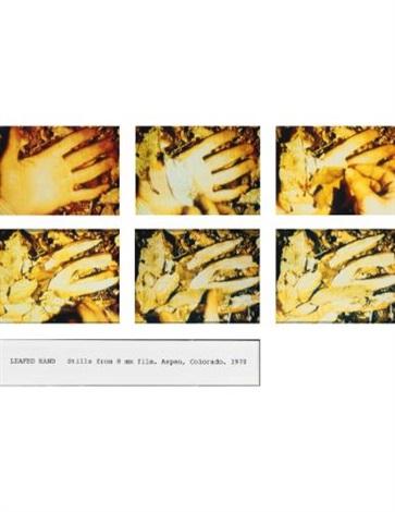 leafed hand 6 works by dennis oppenheim