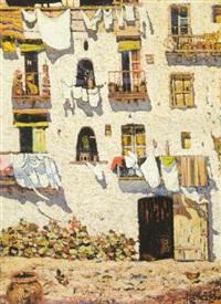 balcones con ropa tendida by nicolas raurich y petre
