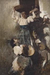 three ladies by romualdo locatelli