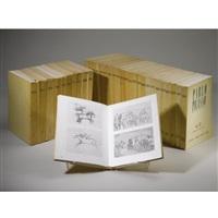 pablo picasso, 1895-1973, catalogue raisonné (set of 34 vols) by christian zervos