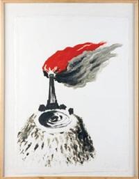volcan en llamas by eva lootz