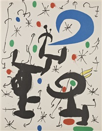 les essències de la terra (book with 14 works) by joan miró