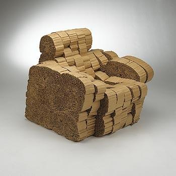 experimental edges club chair by frank gehry on artnet