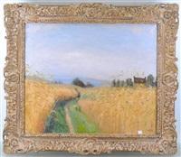 chemin de campagne by léon devos