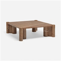 jumbo coffee table by gae aulenti