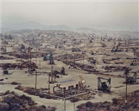 oil fields #13, taft, california by edward burtynsky