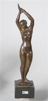 baigneuse aux fleurs by gust jacobs