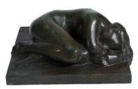 a lady resting by wäinö aaltonen