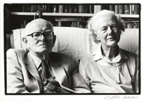 portrait of anne ridler with her husband vivian by judith aronson