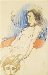 femme nue by paul gauguin