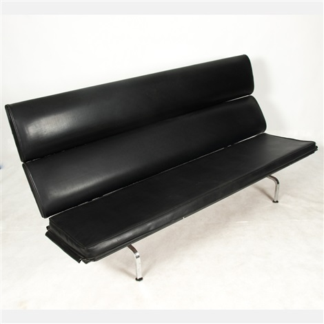 Charles Ray Eames Sofa Compact By Evans Products And Charles ...