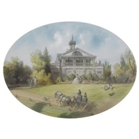 the country house by josef iosefovich charlemagne