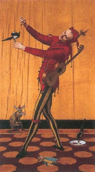 the jester by albert-anatole-martin-ernest lambron des piltieres