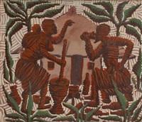 la préparation de la boisson rituelle by kibwanga mwenze