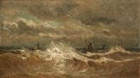 mer démontée by louis artan de saint-martin
