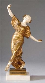 danseuse aux cymbales by gustavo obiols delgado