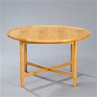 coffee table, model 100 by vagn jacobsen