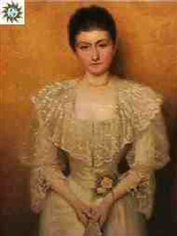portrait of mrs. griffith by henry edward detmold