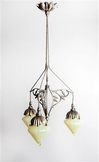 ceiling light by william arthur smith benson
