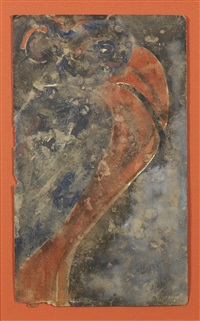 untitled (parrot) by rabindranath tagore