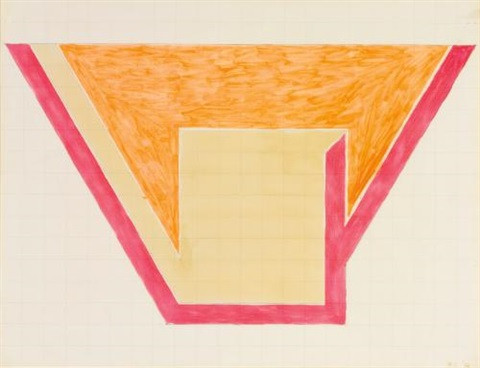 untitled by frank stella