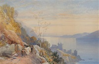 castle urquhart, loch ness by james burrell smith