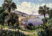 on the amalfi coast by gottfried arnegger