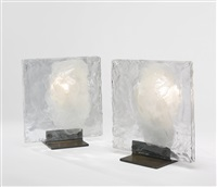 pair of table lamps by gio ponti