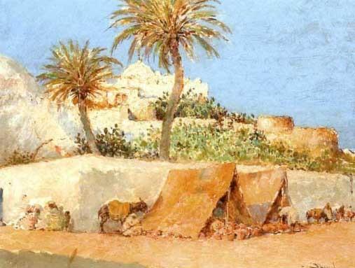 campement devant les remparts de safi by felipe barantes abascal