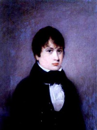 portrait of a boy from the hacker family (or hocker family) by charles linsell
