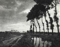 a dyke, zeebrugge, belgium by charles job