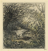 das geheimnis von marie rogets tod (the mystery of marie roget's death) by alfred kubin