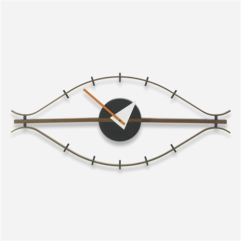 eye clock model 2238 by george nelson associates