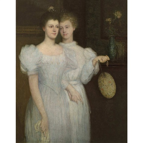 the two sisters by julian alden weir